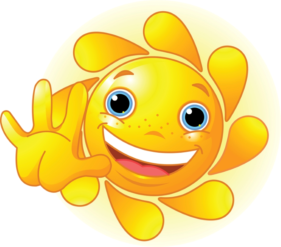 emoji smiley sun